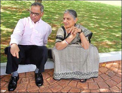 Image result for 4. Sudha Murthy, wife of Narayana Murthy