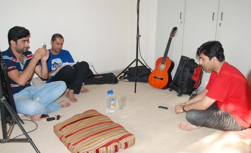 Al-Rasub Team with Taimur Rahman