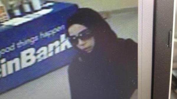 Saudi woman accused of robbing 5 U.S. banks