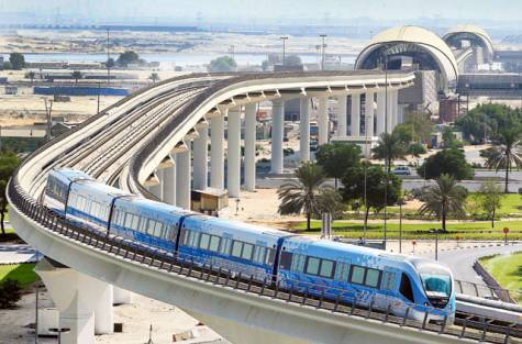 300 millions in Dubai Metro