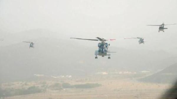 Emergency helicopters on alert to monitor hajj pilgrims