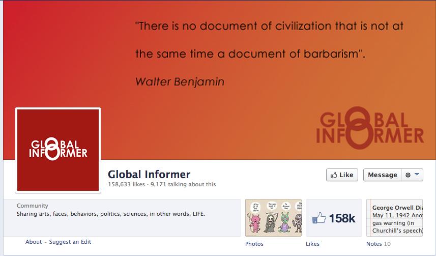 Global Informer Facebook Page