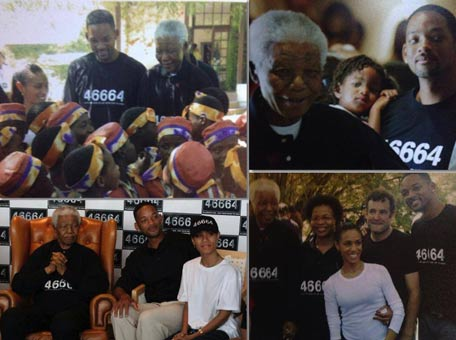 Will Smith and Nelson Mandela (Facebook)