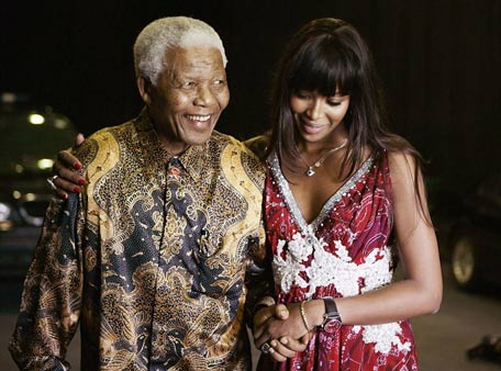 Naomi Campbell: Nelson Mandela has stood as a figure of strength, hope, freedom, selflessness and love, and I join everyone across the world in mourning his passing. However, he was much more than just a figurehead to me - he was my mentor, my honorary grandfather, my Tata. Since meeting him in 1993, he guided me and gave me a reason for being in the tough times of my life. He changed my perception of the world. (Facebook)
