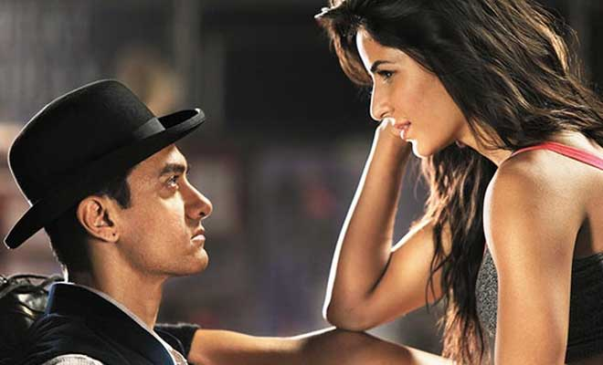 Dhoom 3 Aamir khan and Katerina