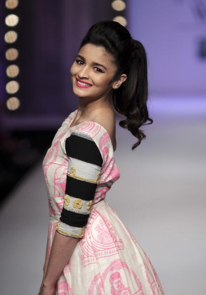 The eighth celebrity was the Bollywood actress Alia Bhatt.