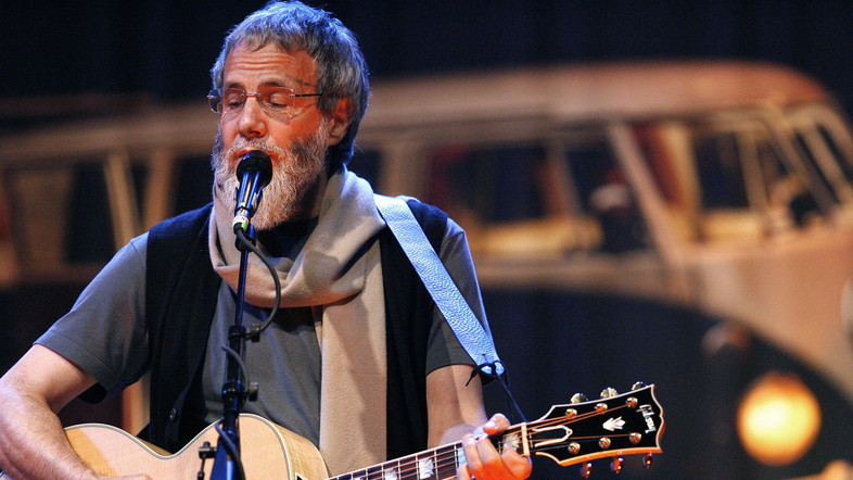 Singer Yusuf Islam, formerly known as Cat Stevens, performs a sound check ahead of his concert at El Rey theatre in Los Angeles