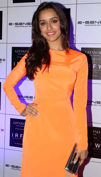 The fifth celebrity was the Indian Bollywood actress Shraddha Kapoor.
