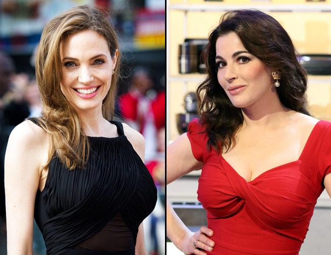 Angelina Jolie to play Nigella Lawson
