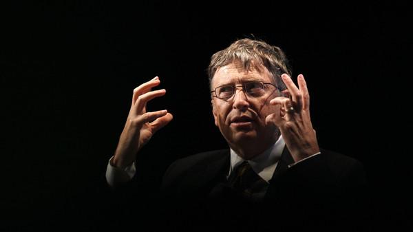 Bill Gates speaks in Washington