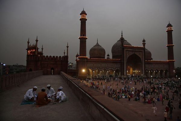 Iftar in the Courtyard  New Delhi india