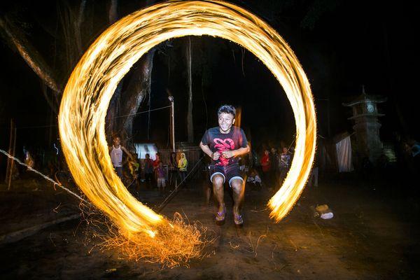Java Jumping Through Fire