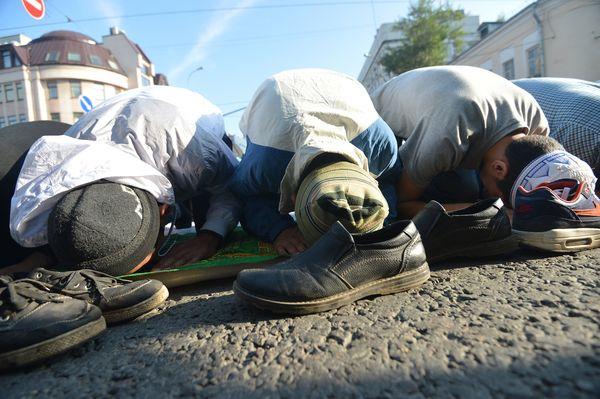 Moscow Eid al-Fitr Prayer