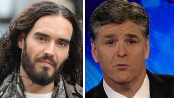 Russell Brand tells Fox News host come back to humanity