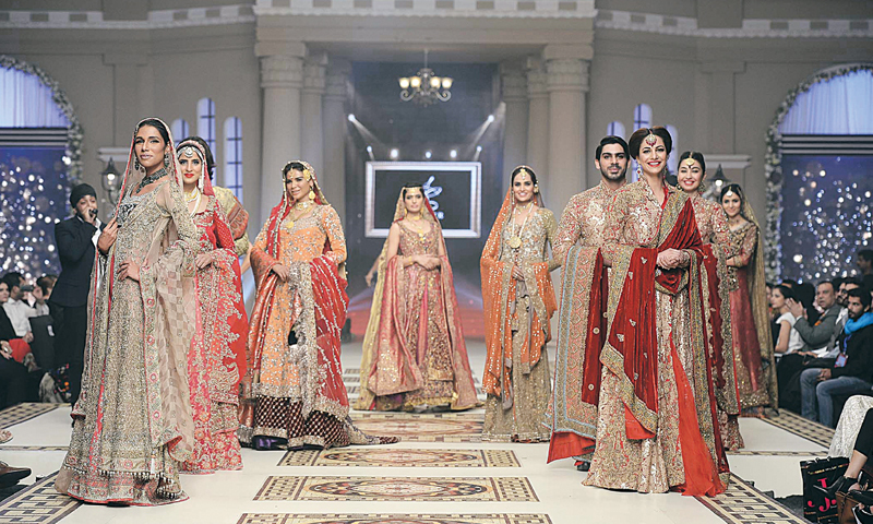 Bridal Couture Week  Lights, camera fashion