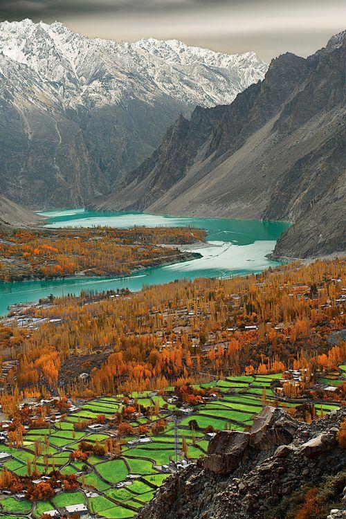 Attabad Lake, Hunza Valley