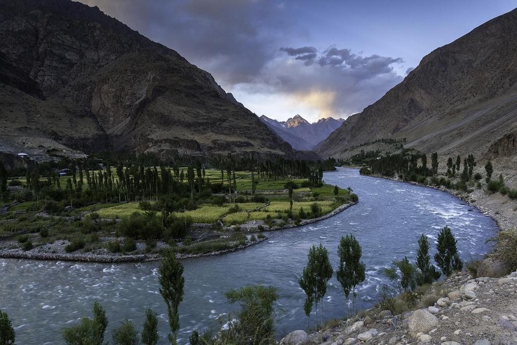 Ghizer River in Gilgit-Baltistan