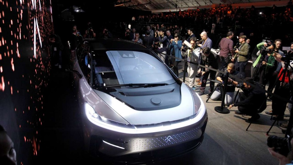 Faraday S Super Fast Ff 91 Electric Car Attracts 64 000 Ers In The First 36 Hours