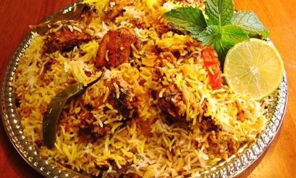 Spicy biryani from Karachi